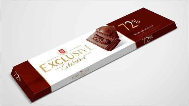 Hořká čokoláda 72% 50 g - Taitau Exclusive Selection