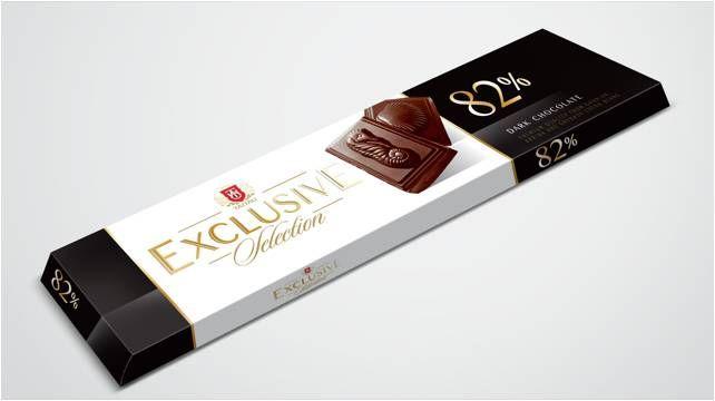 Hořká čokoláda 82% 50 g - Taitau Exclusive Selection