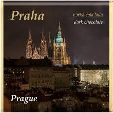 Čokoláda Praha hořká 53% 85g - mix motivů